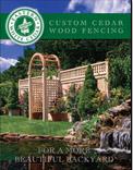 Custom Cedar Fencing Brochure